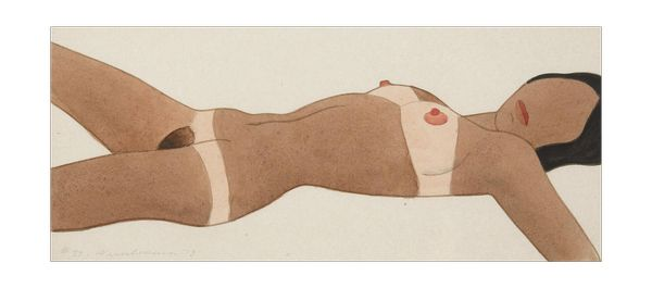 Tom Wesselmann  Open Ended Nude   1973